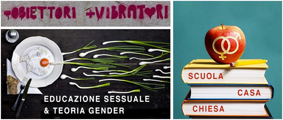 Educazione sessuale e teoria Gender: casa, chiesa, scuola